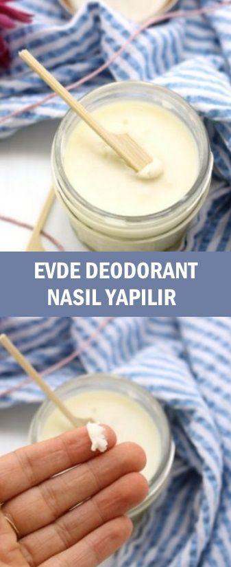 Evde Deodorant Nasıl Yapılır Pratik Bilgiler Pinterest
