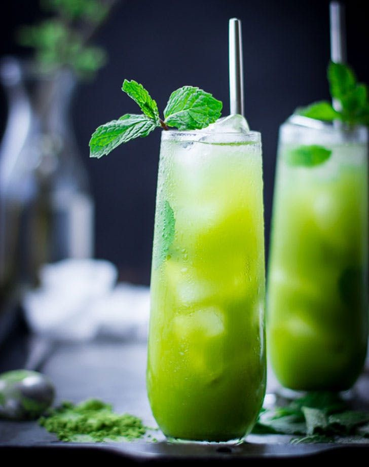 The Best Spring Cocktails | Macha Mojito and more
