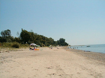 Rock Point Provincial Park on Lake Erie Был уже 2 раза просто прэлэсть))
