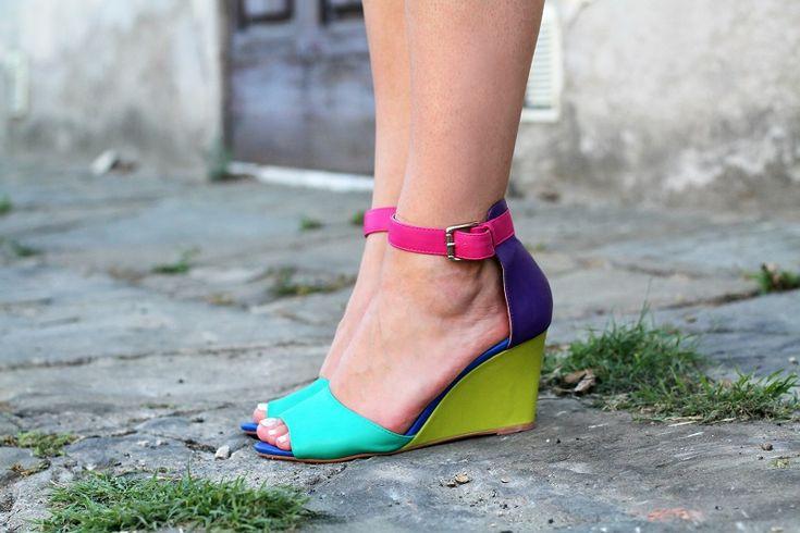 #fashion #fashionista @Irene Colzi sandali cinturino caviglia