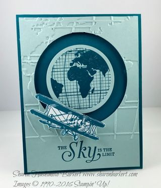 Sky is the Limit Round the World card