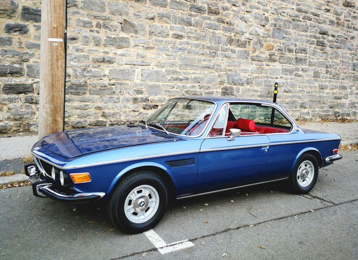 Restauriert 1972 BMW 3.0CS 5-Gang
