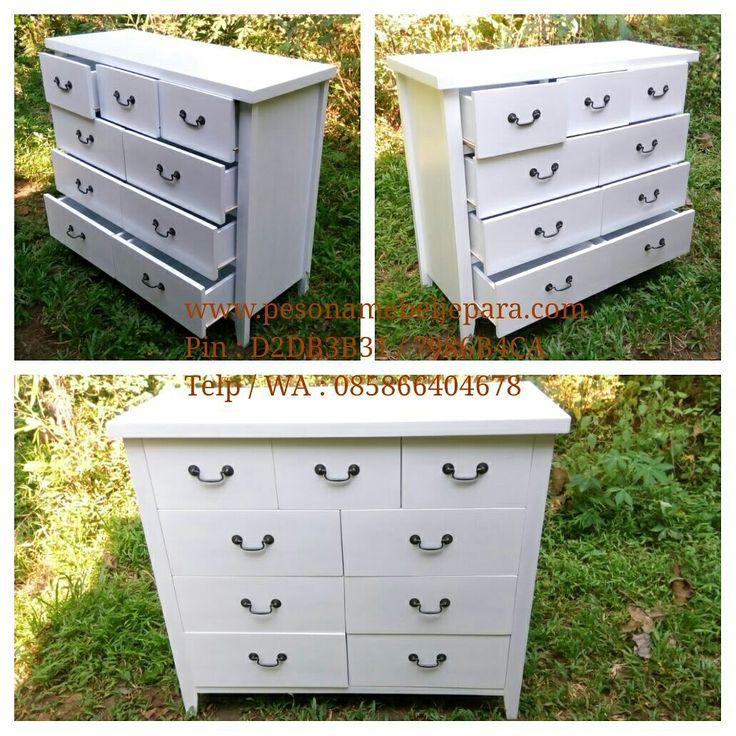 Alhamdulillah.. Commode chest 9 drawers pesanan Mas Sopar #tapos #depok sudah jadi dan siap kirim hari ini.. Silahkan yg ingin pesan..  Bahan kayu mahoni. Finishing duco white dove Langsung dari pengrajin..  #commode #commodechest #commodechest6drawer #commodechest9drawe #drawer #drawerduco #teakfurniture #meuble #furniture #mahoganyfurniture #ducofurniture #pesonamebeljeparagroup #pesonamebeljepara #pesonamebel #pesonajepara #mebeljepara #mebelpesona #mebelpesonajepara #jeparapesona…