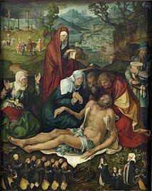 Alberto Durero -lamentación por cristo 1498