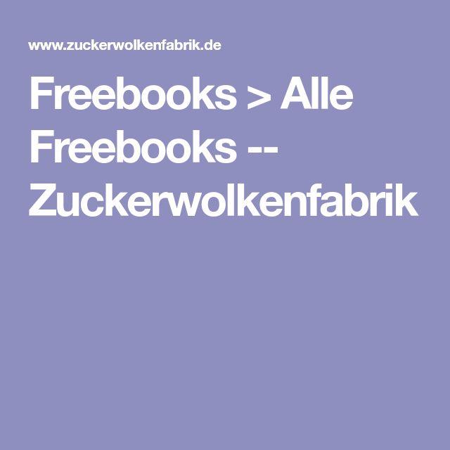 Freebooks > Alle Freebooks -- Zuckerwolkenfabrik