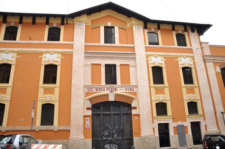Stabilimento birra Peroni Roma # Liberty