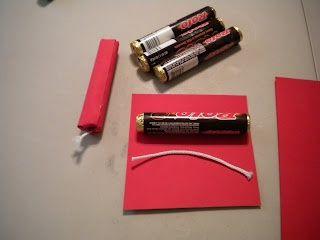 dynamite sticks | Dynamite candy sticks | Spy Theme (Camp, Party)