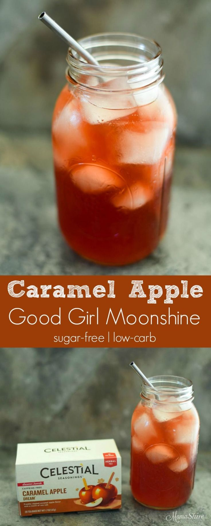 Caramel Apple Good Girl Moonshine. All the yumminess of caramel and apple flavors make this GGM delightful and refreshing. Sugar-Free, THM…