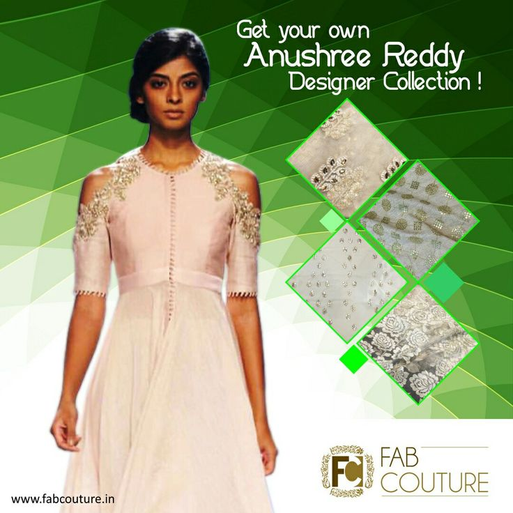 Get your own #AnushreeReddy #Stylish #designer #collection at #FabCouture! #DesignerFabric at #AffordablePrices.  Buy your stock of fabric from:https://fabcouture.in/embroidered-indian-fabrics.html #DesignerDresses #Fabric #Fashion #DesignerWear #ModernWomen #Embroidered #WeddingFashion #WesternLook #affordablefashion #GreatDesignsStartwithGreatFabrics #LightnBrightColors #StandApartfromtheCrowd #EmbroideredFabrics