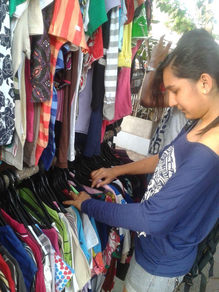 Mumbai Shopping Street