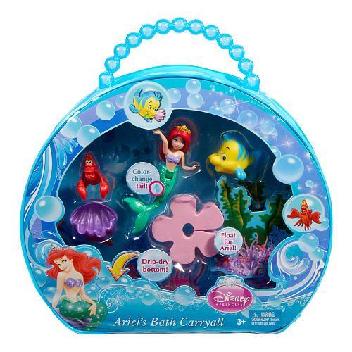 Little Mermaid Bath Toys | Ariel Bath Toy