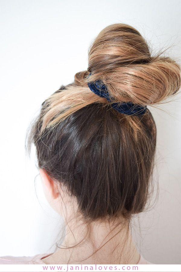 Scrunchie Haargummi 5 Arten Den Trend Der 90er Zu Stylen