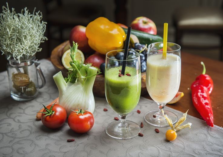 Have a smoothie at our café bar.