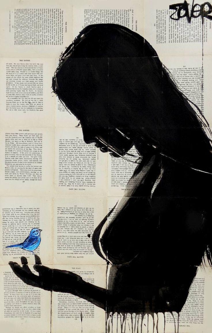 "Saatchi Art Artist Loui Jover; Drawing, ""sensation"" #art"