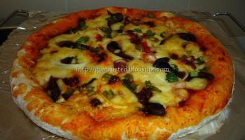 RECETA DE PIZZA Y PIZZA ROLES
