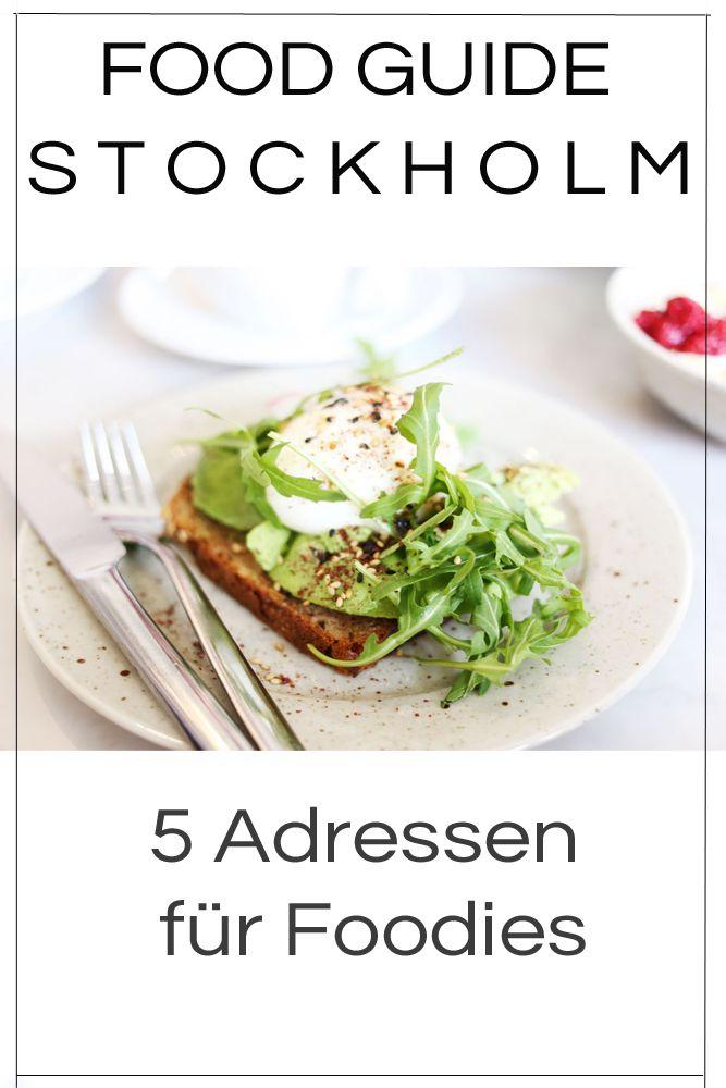 Stockholm ist der Ort f端r Foodies! Auf meinem Bl…