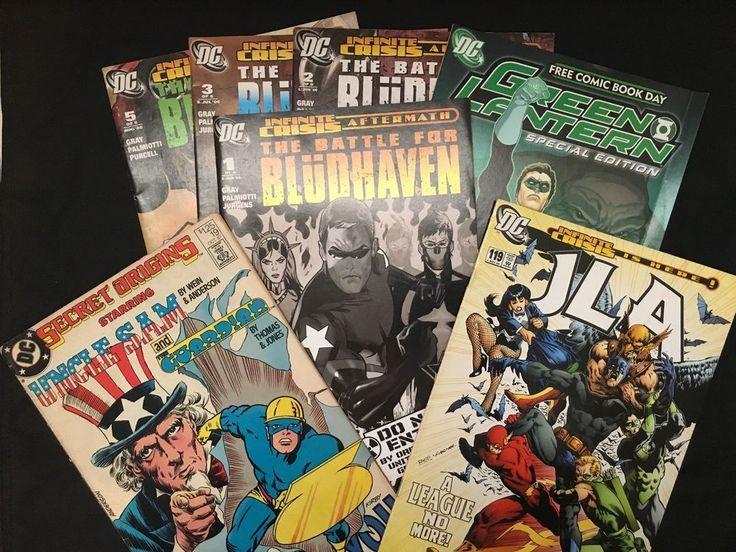 DC Comics 7 Books Set: Battle For Bludhaven / JLA / Green Lantern / Uncle Sam ++ in Books, Magazines, Comic Books   eBay!