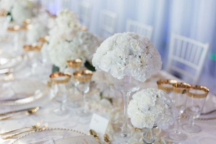 Florals florals everywhere! elle cuisine weddings