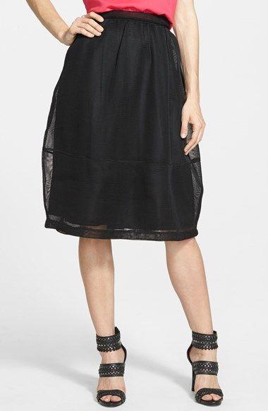 PPLA Mesh Midi Skirt