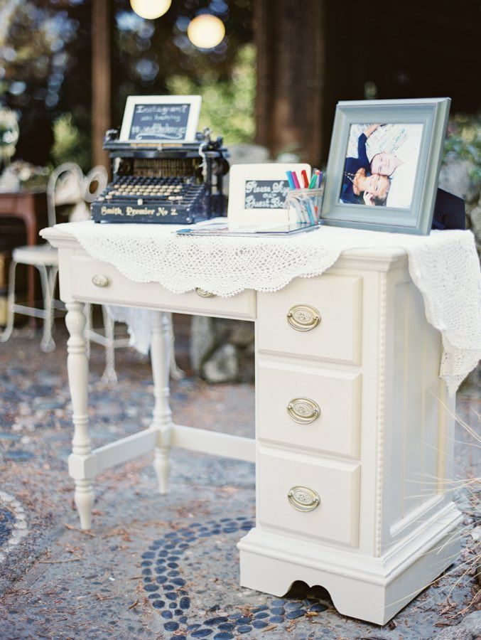 wedding guest book idea; photo: Michele Beckwith