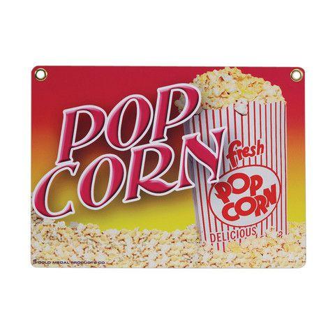 Heavy Duty Popcorn Sign - #2899