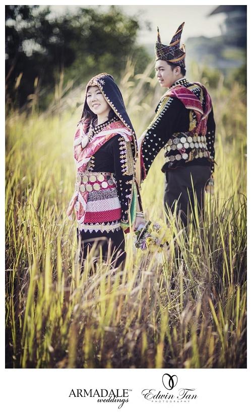 Traditional pose - couple | Everything Kadazan | Pinterest ...