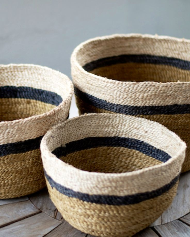 Need / Want! - Love baskets for storage.