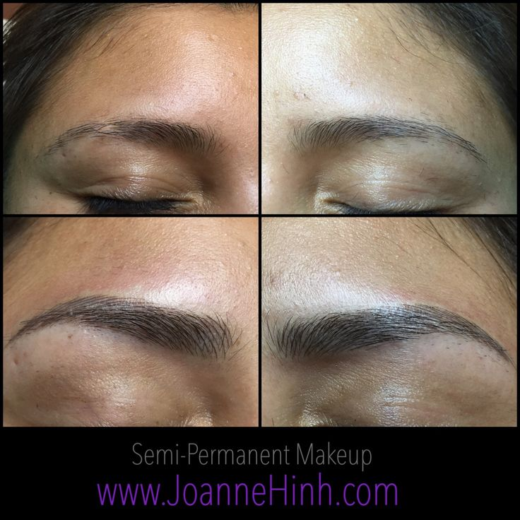 Hairstroke Eyebrow Embroidery by Joanne Hinh. Brow embroidery. 3D Brow tattoo. Feathering. Permanent makeup. Cosmetic tattoo. Eyebrow tattoo. Permanent Makeup Artist. www.joannehinh.com email: jo@joannehinh.com