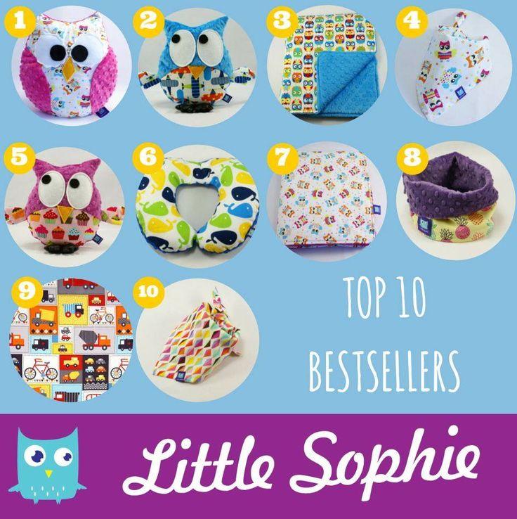 Top 10  Bestsellers on www.littlesophie.pl  #bestseller #bestsellers #littlesophie #littlesophie.pl #top10 #top #kids #forkids #blanket #babyblanket #minkyblanket #madeinpoland #owl #owls #sowa #sowy #kocyk #minky #tubescarf #owlpillow #pillow #baby #forbaby #dziendziecka