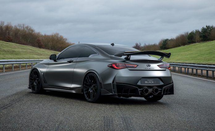 500 Hp Infiniti Q60 Black S May Reach Production By 2020 New Infiniti Infiniti New Cars