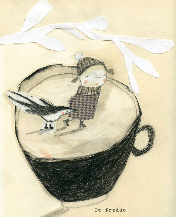 Thé glacé / Iced Tea / Tè freddo by Manon Gauthier.