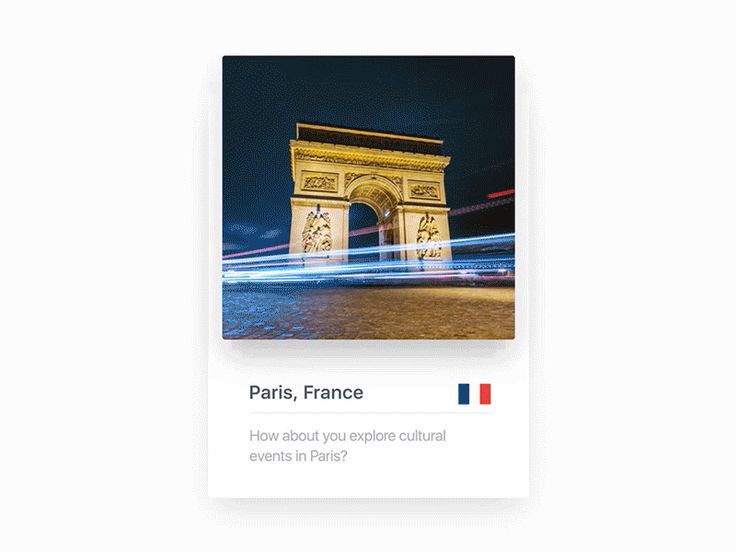 Time Lapse Cards with location for travel iOS app by Fantasy by Gleb Kuznetsov✈