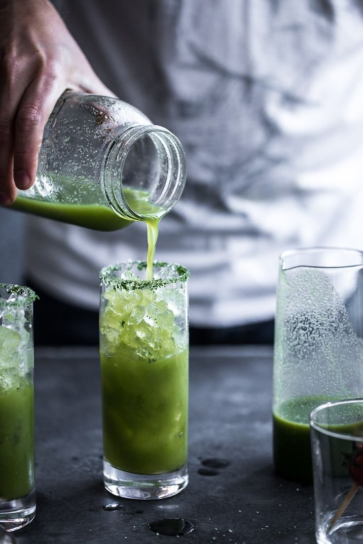 Super Green Turmeric Bloody Mary - Cook Republic