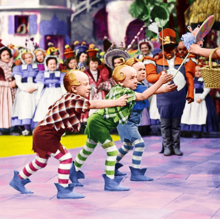 *THE MUNCHKINS ~ The Wizard of Oz, 1939