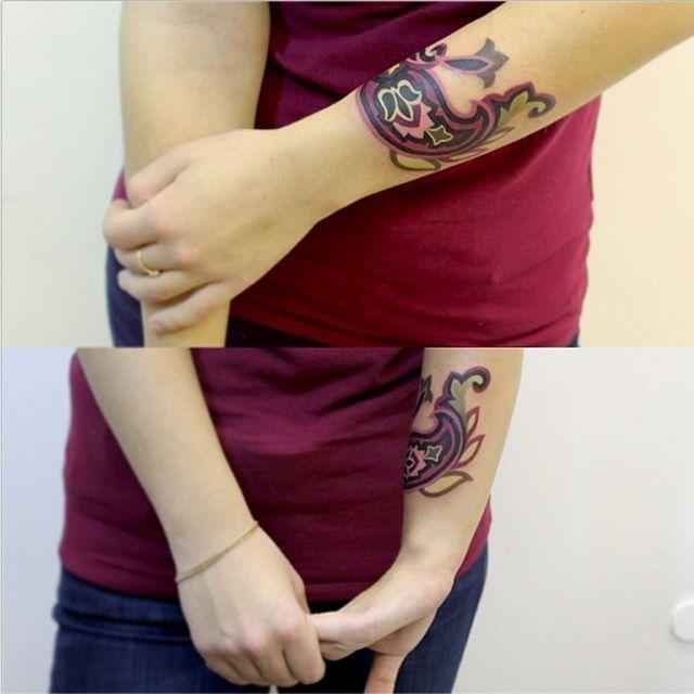 Green Henna Wrist Tattoo: 724 Best C. Paisley & Henna II Images On Pinterest