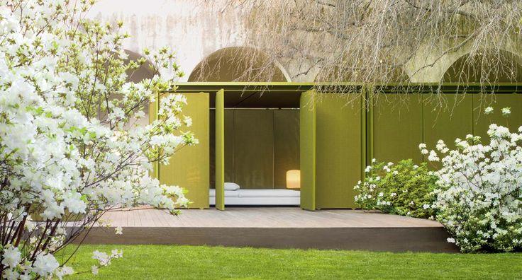 cabanne - modulo quadro - paola lenti | pergola pavillon landscape, Gartengerate ideen