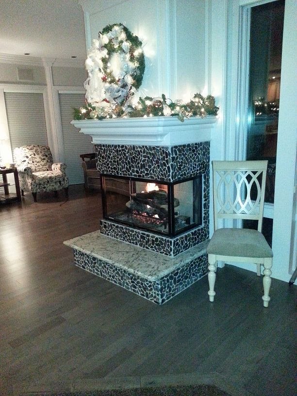 34 best 3 Sided Fireplaces images on Pinterest Fireplace ideas