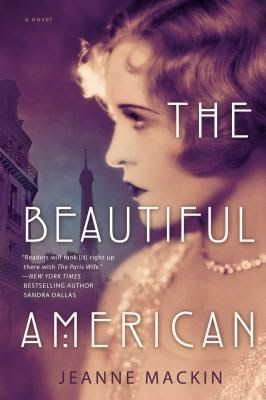 Historical fiction based on real people, photographers Man Ray and Lee Miller, THE BEAUTIFUL AMERICAN by Jeanne Mackin - SincerelyStacie.com #bookreview