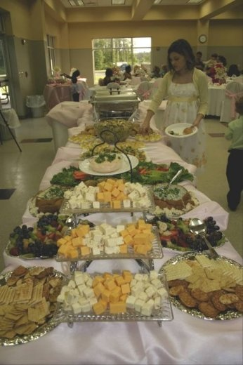 DIY food buffet