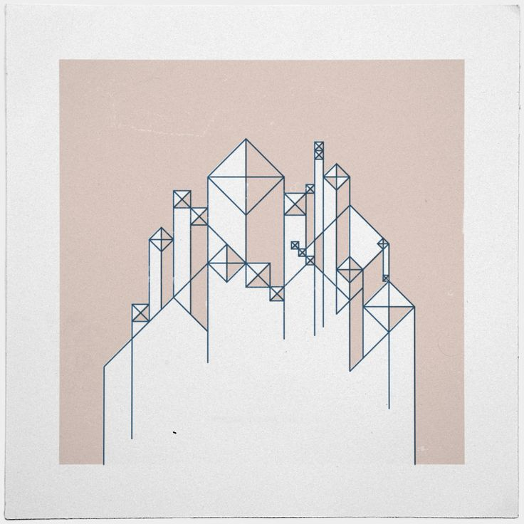#345For here we have no lasting city, but we seek the city that is to come. – A new minimal geometric composition each day