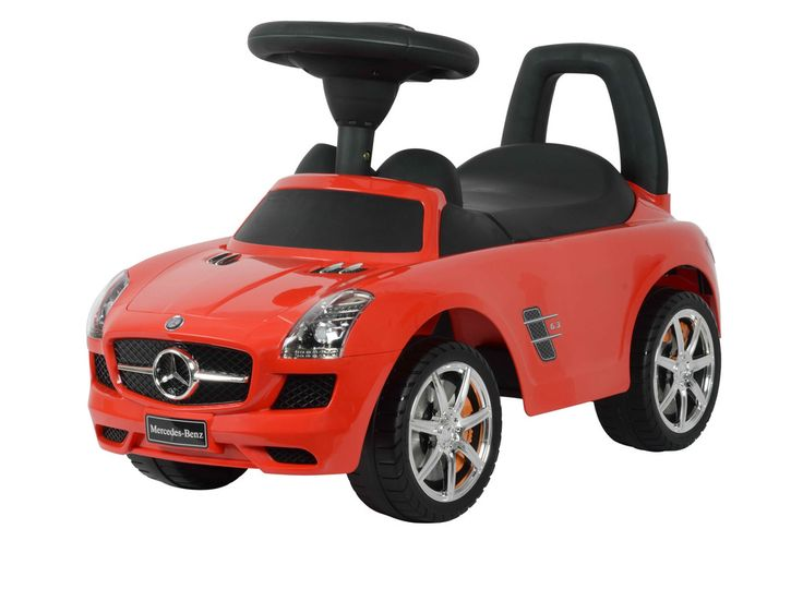 Mercedes Benz Licensed Kids Ride On Push Along Sliding Toy Sports Racing Car Vehicle (Model:332)