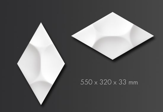 ARSTYL® Wall Tiles RAY / 550 x 320 x 33 mm
