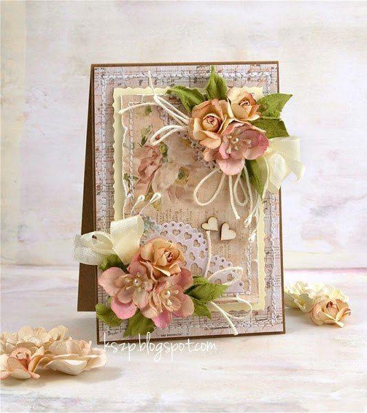 Скрапбукинг открытки с цветами фото, любовь