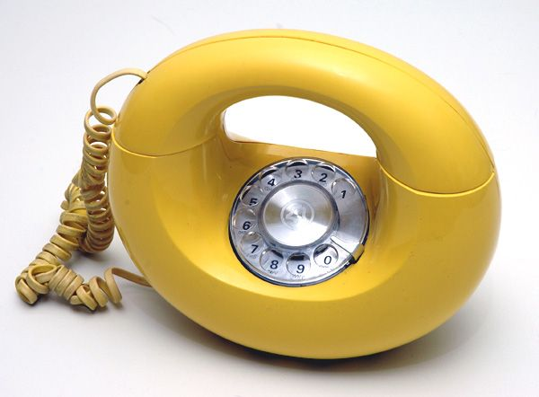 Donut Phones (with a rotary dial)