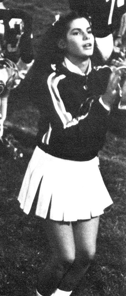 Sandra Bullock was a cheerleader in her teen years.