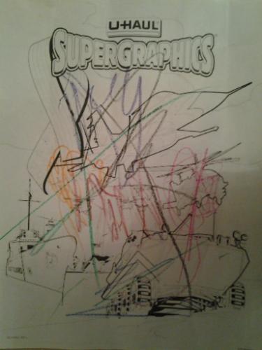 u haul supergraphics coloring contest pages - photo #6