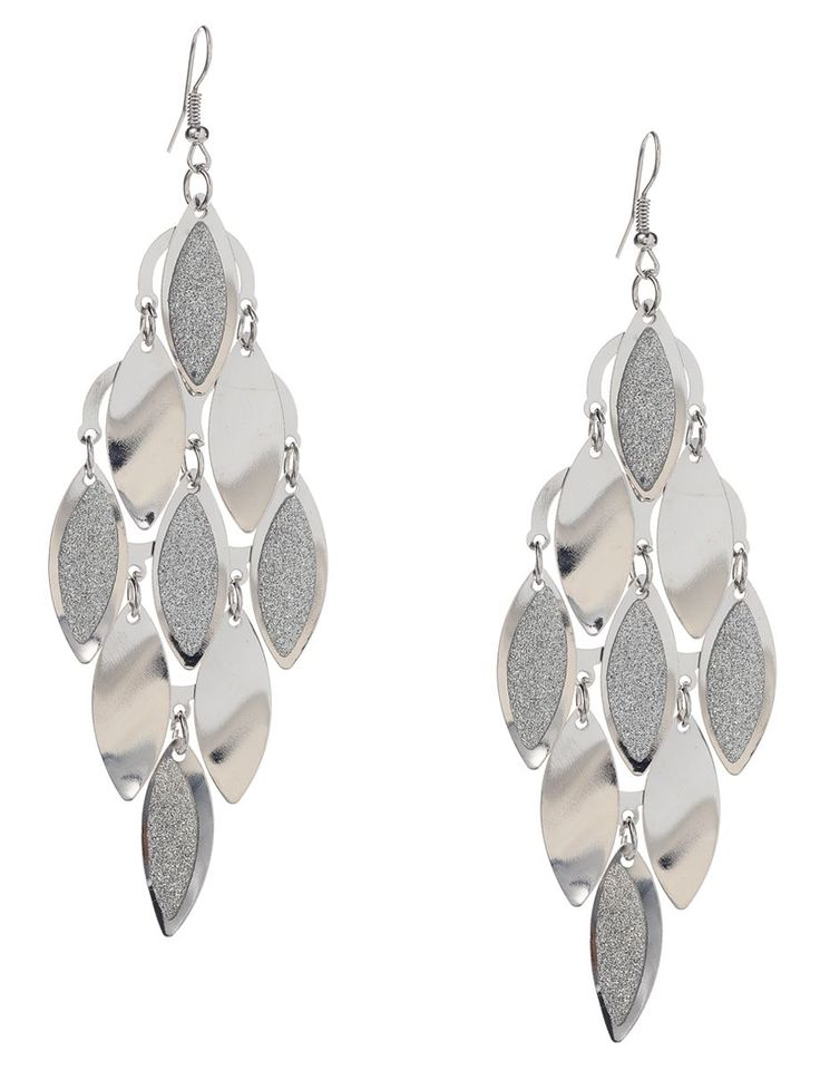 Amazing Silver Chandelier Earrings In Home Decoration Ideas With