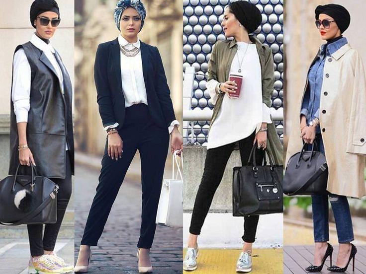 classy and elegant hijab looks - http://www.justtrendygirls.com/hijabista-fashion-looks/