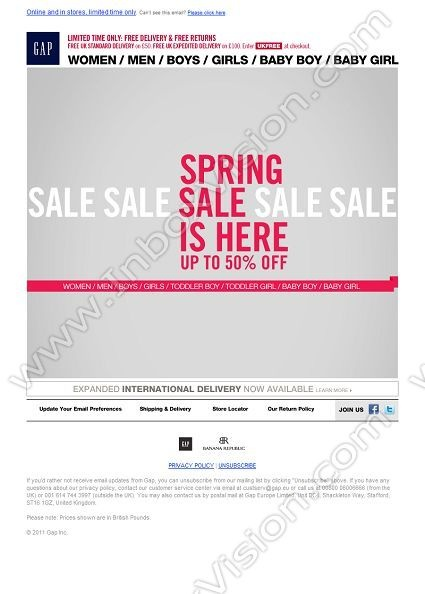 Best Email Design Retail Sale  On Sale Images On