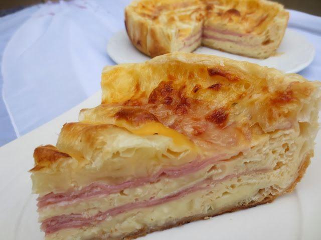 Quiche de queso brie y jamón Ana Sevilla
